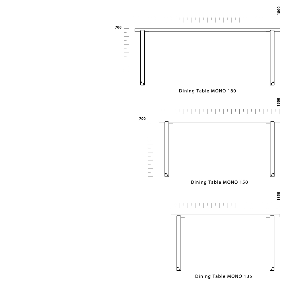 Dining Table MONO