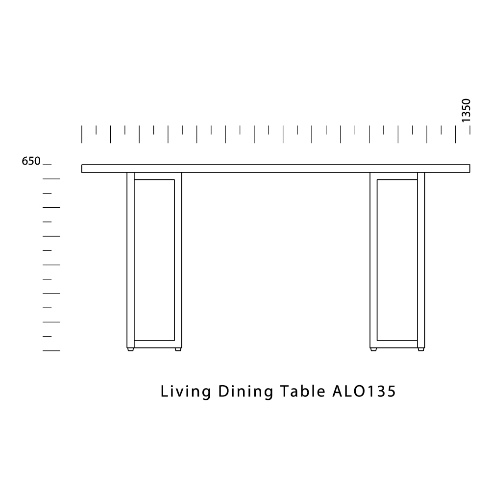 Living Dining Table ALO