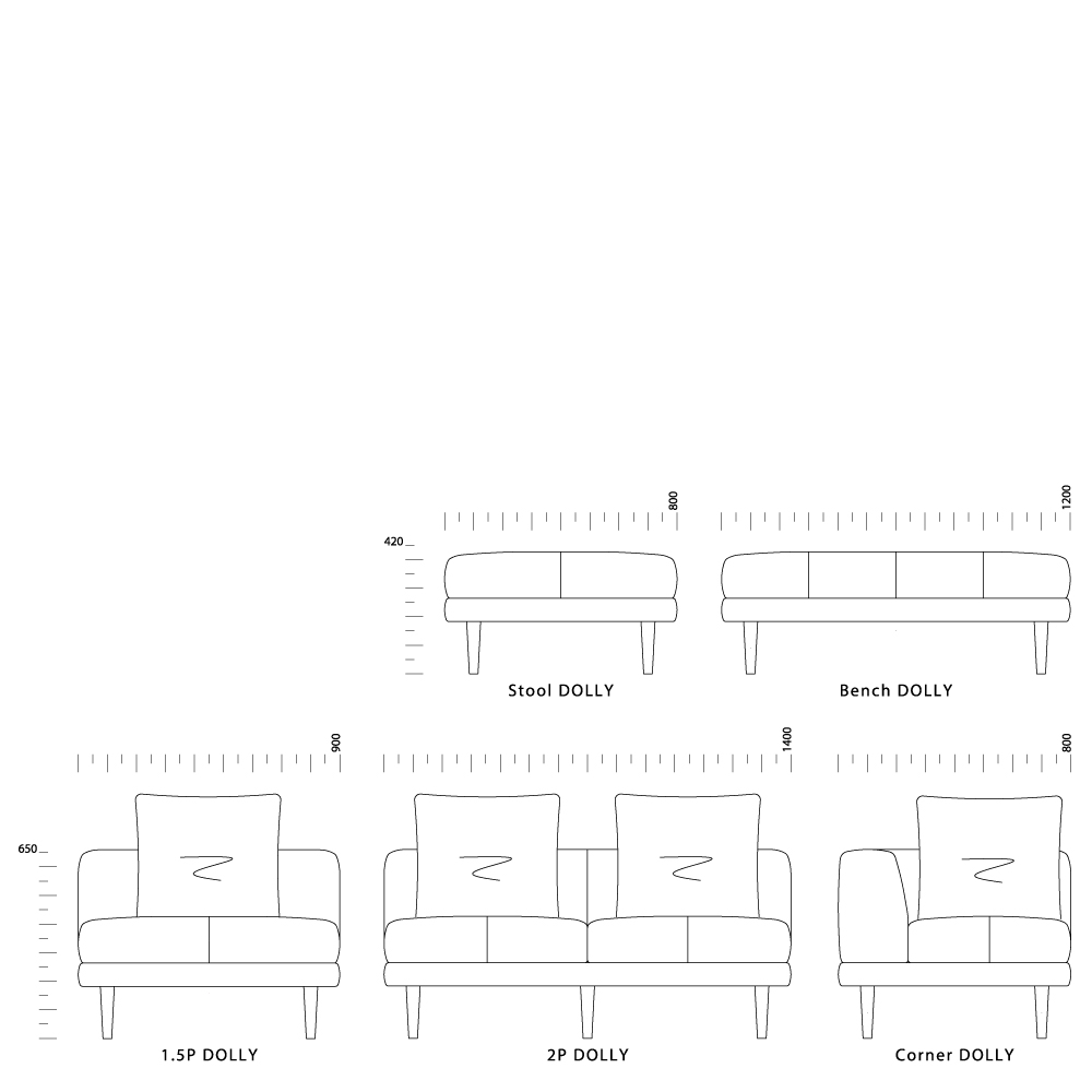 System Sofa DOLLY