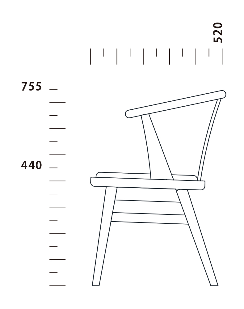 Dining Chair BAKKEN