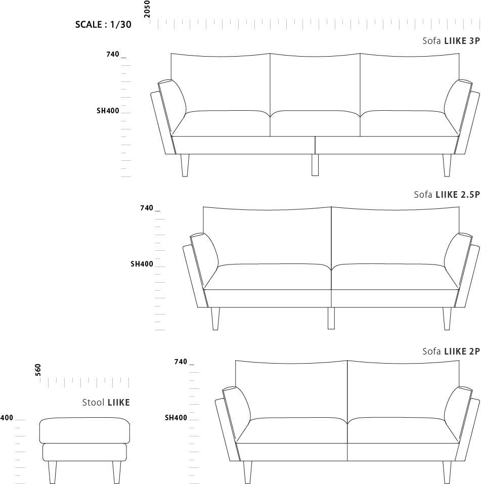Sofa LIIKE