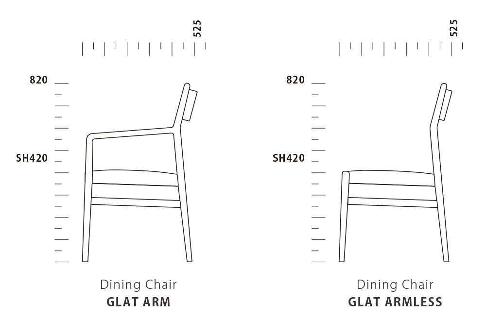 Dining Chair GLAT
