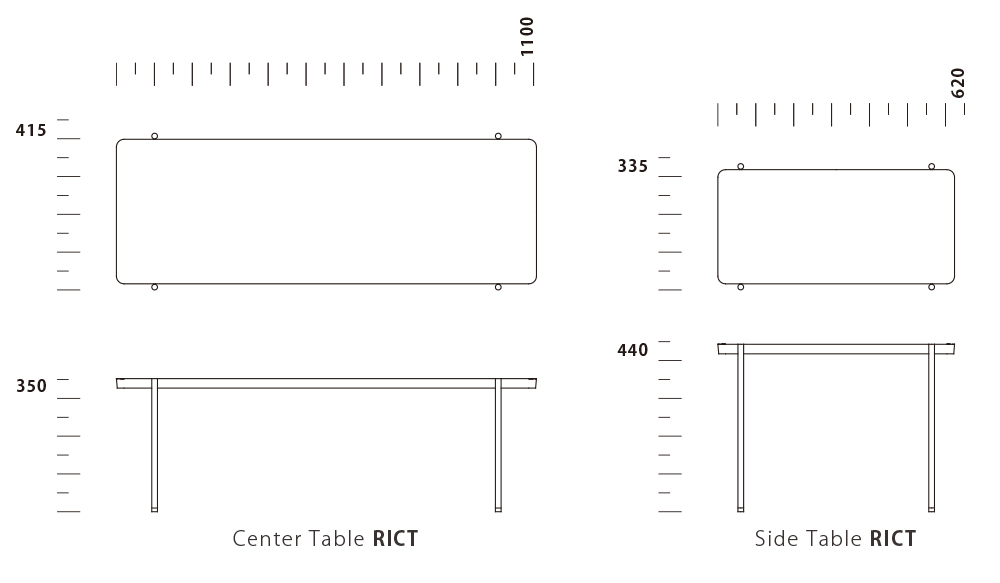 Center & Side Table RICT