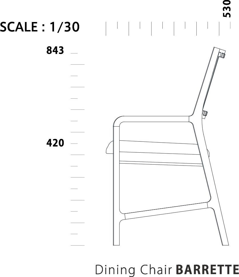 Dining Chair BARRETTE