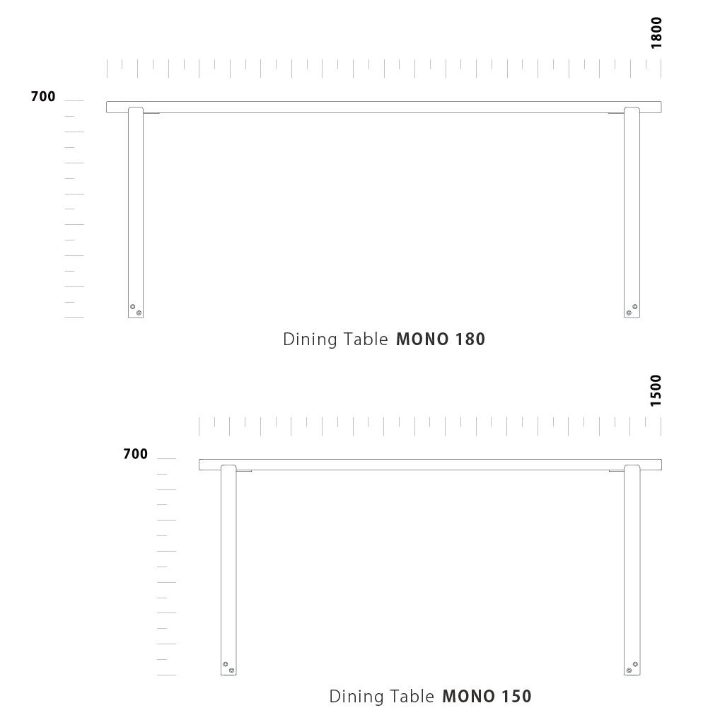 Dining Table MONOIII
