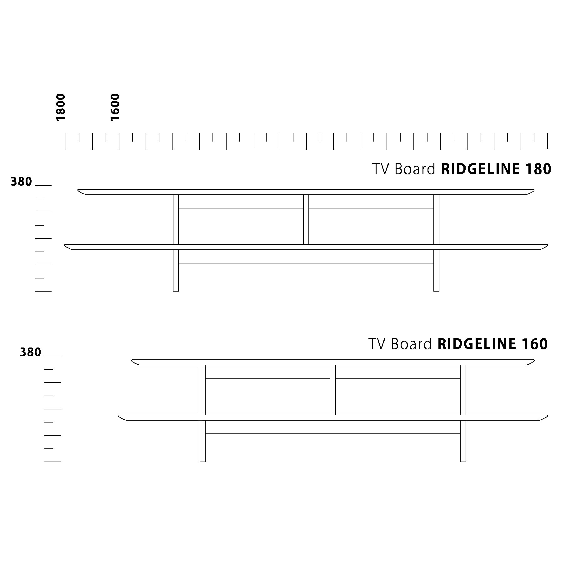 TV Board RIDGELINE II