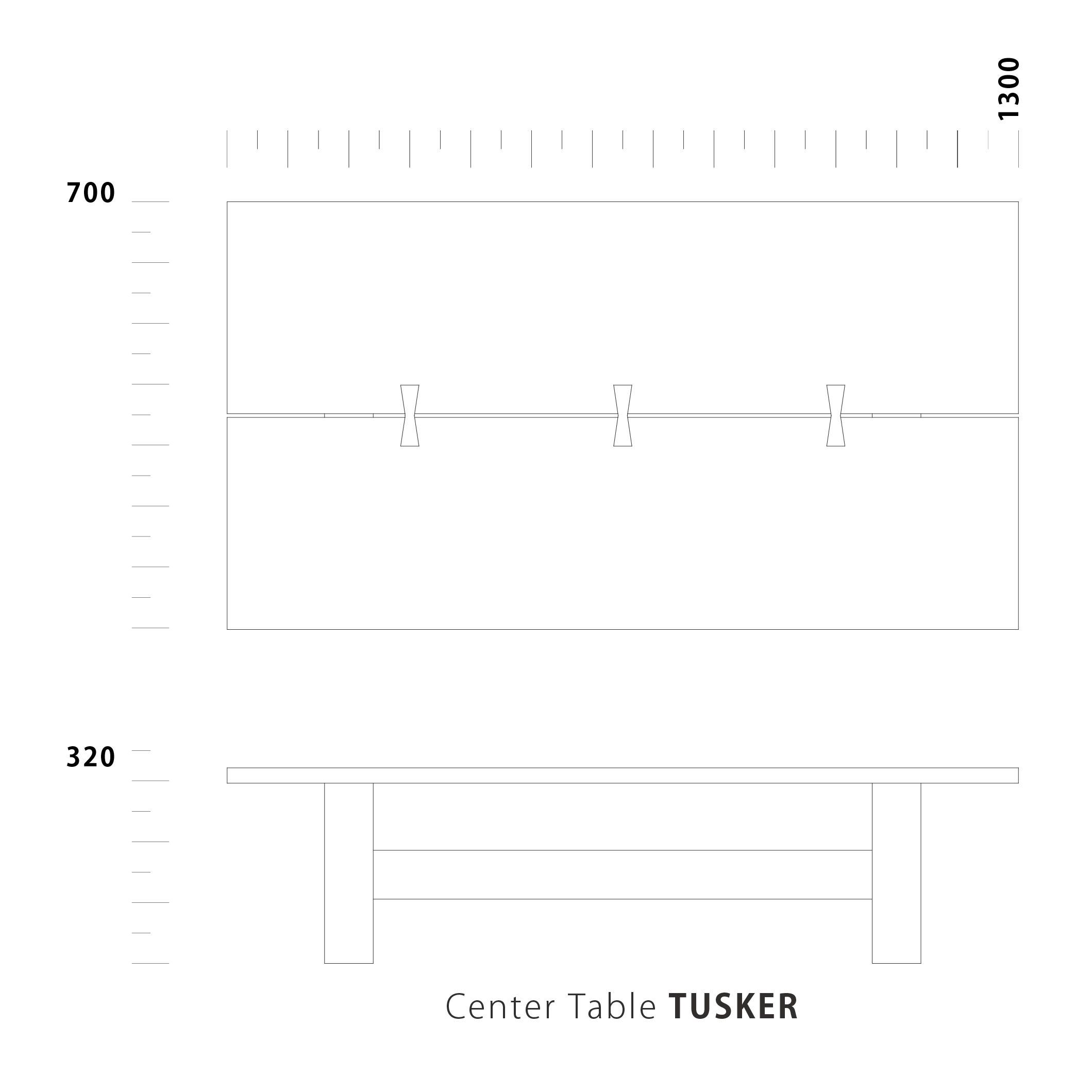 Center Table TUSKER