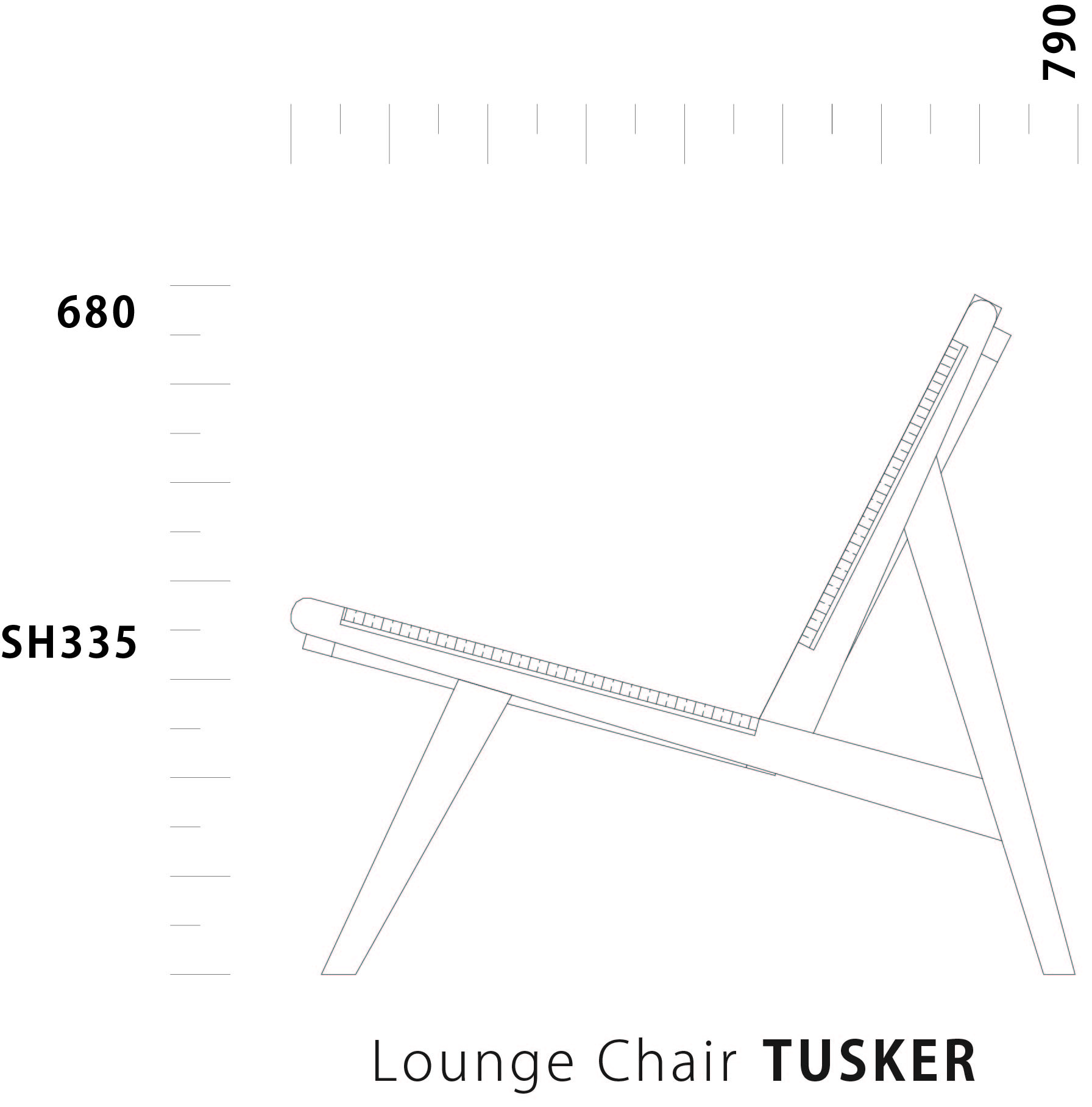 Lounge Chair TUSKER