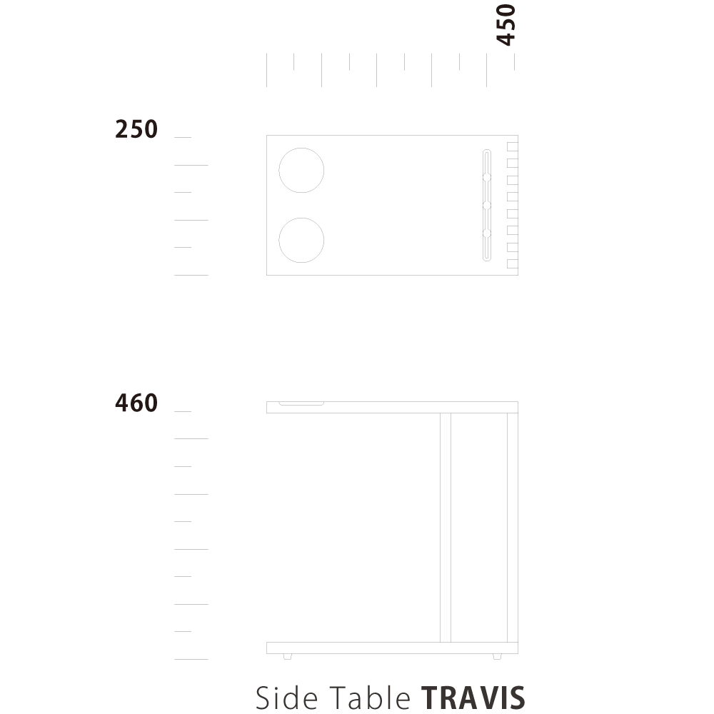Side Table TRAVIS