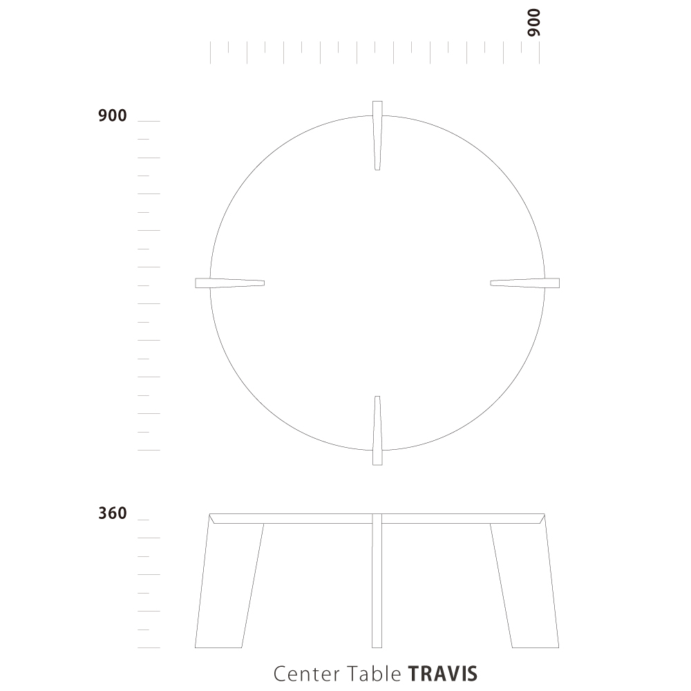 Center Table TRAVIS