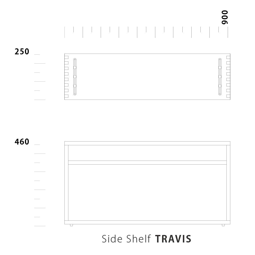 Side Shelf TRAVIS