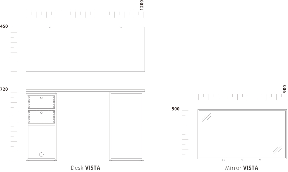 Desk VISTA